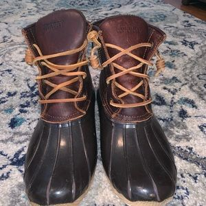 Sorry Top-Sider Saltwater Duck Boots